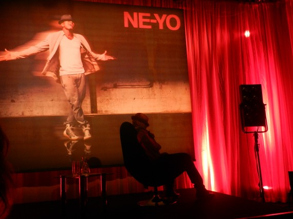 NE YO ONSTAGE AT HIS ALBUM PLAYBACK AT THE HOSPITAL PRIVATE MEMBERS CLUB