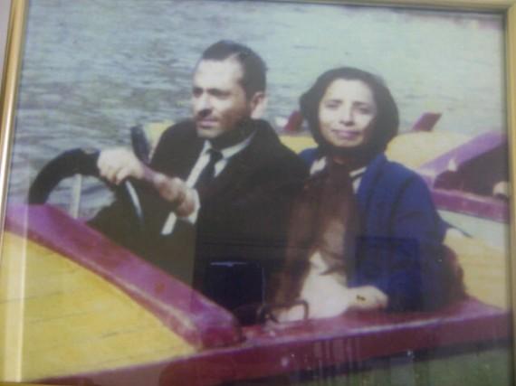 dad mum boat