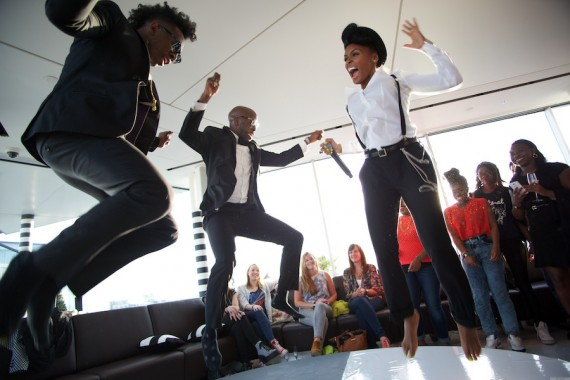 Janelle Monae - The Electric Lady playback party