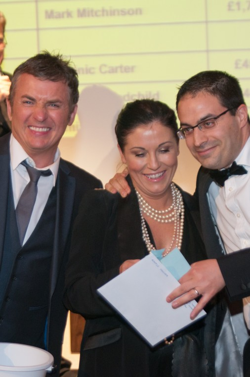 Shane Richie, Jessie Wallace and Auction Guest