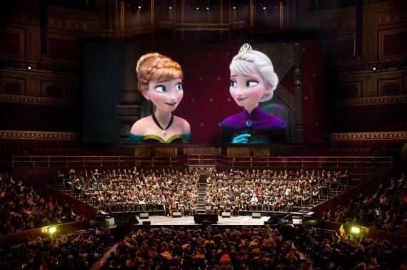 'Frozen' at the RAH.