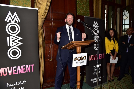 "The MOBO launch of ""The Shape of Things to Come"""